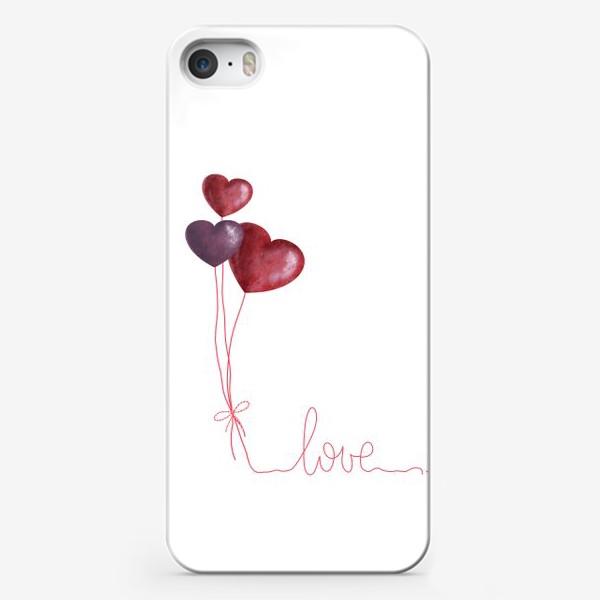 Чехол iPhone «С любовью»