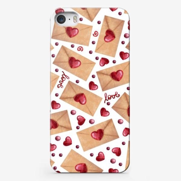 Чехол iPhone «любовные письма»