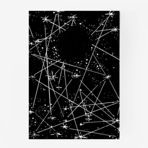 Постер «Чёрная дыра»
