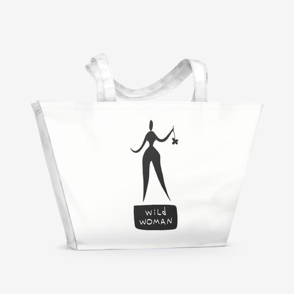 Пляжная сумка «Wild Woman»