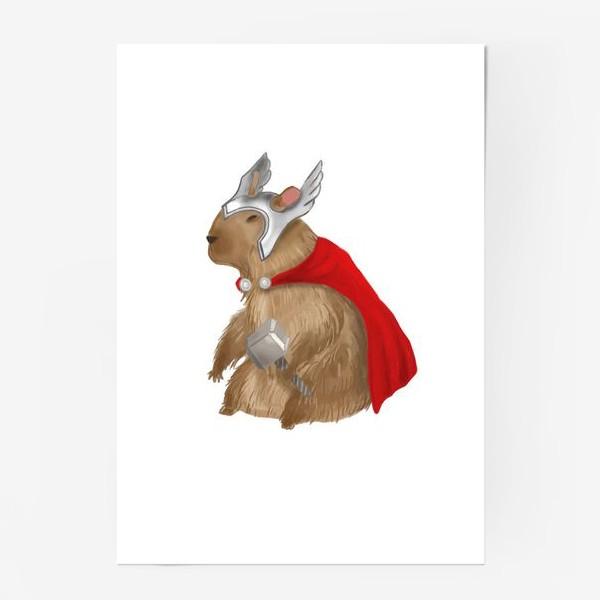 Постер «Капибара Тор»