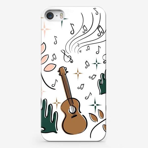 Чехол iPhone «Я играю на укулеле»