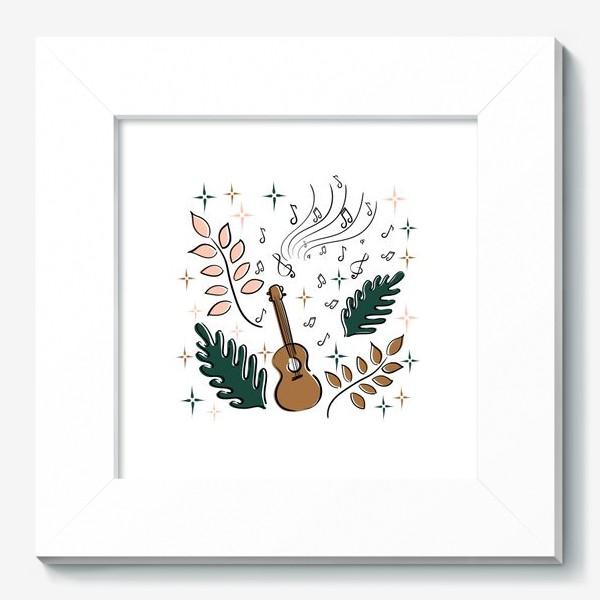 Картина «Я играю на укулеле»