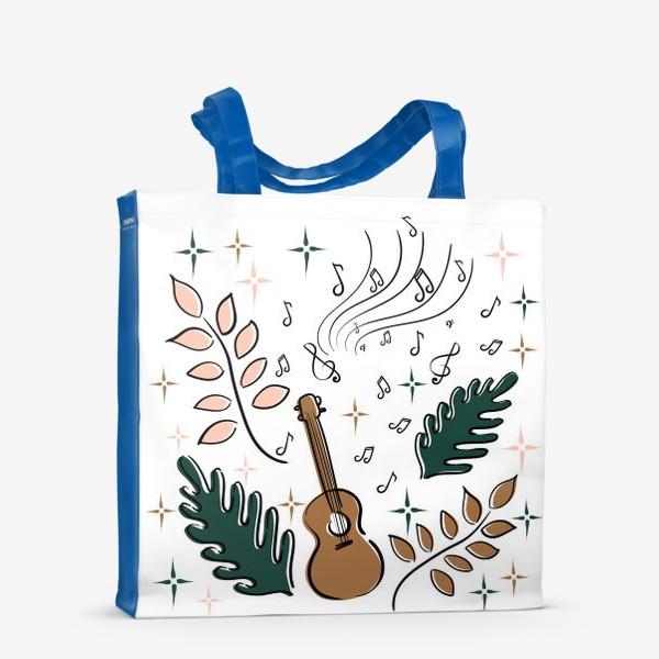 Сумка-шоппер «Я играю на укулеле»