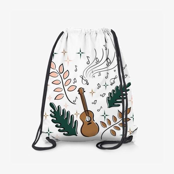 Рюкзак «Я играю на укулеле»