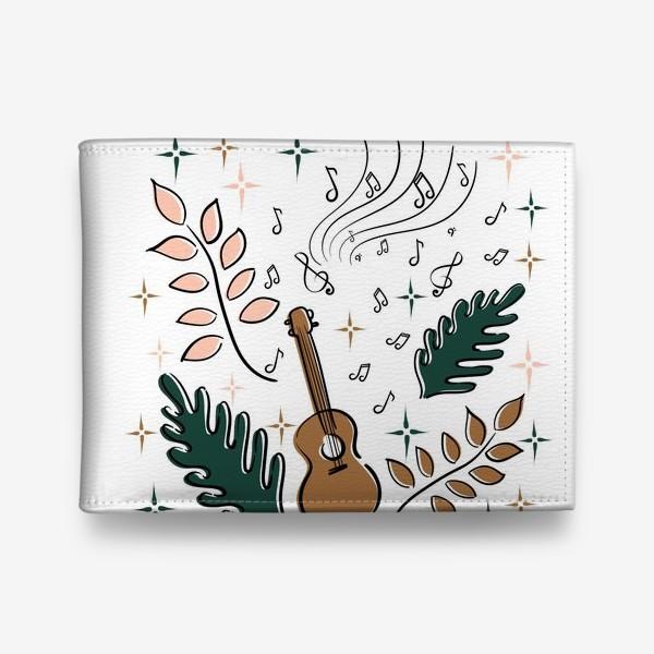 Кошелек «Я играю на укулеле»