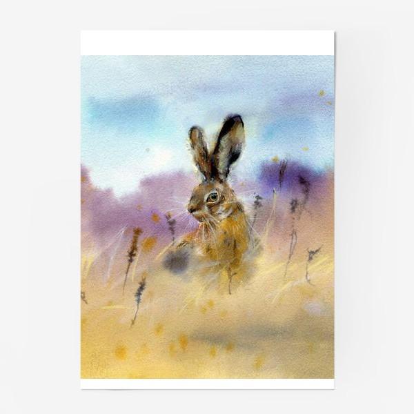 Постер «Заяц »