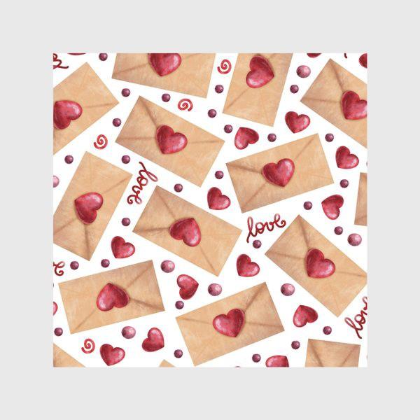 Скатерть «любовные письма»