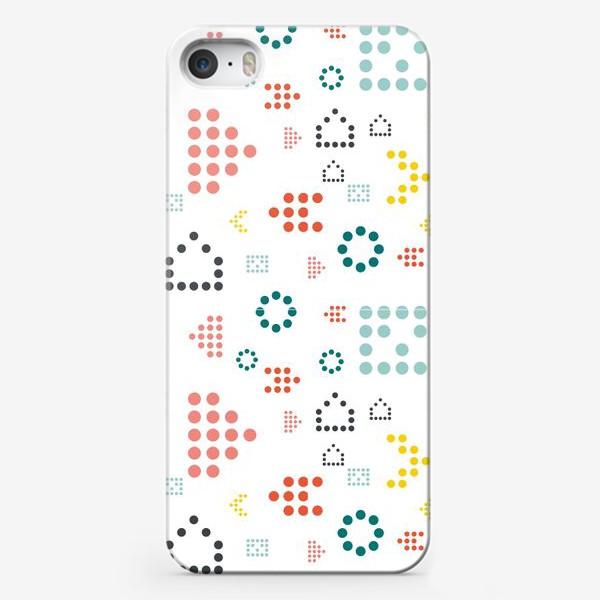 Чехол iPhone «ЦВЕТНЫЕ ТОЧКИ»