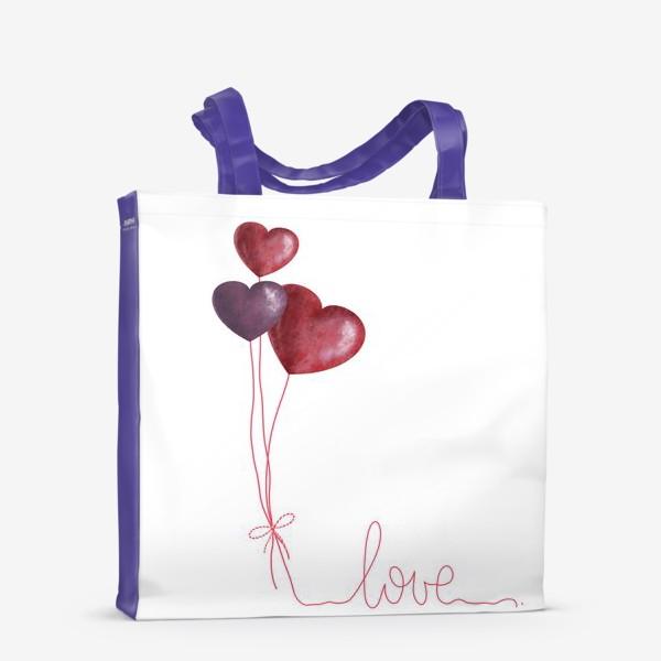 Сумка-шоппер «С любовью»