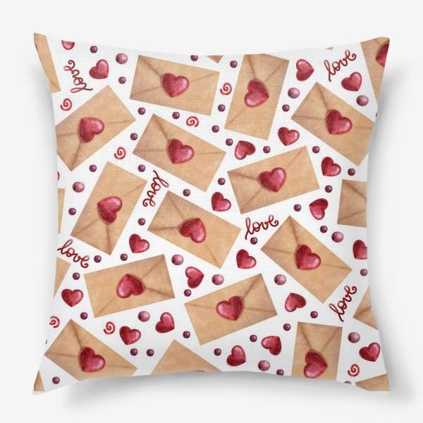 Подушка «любовные письма»