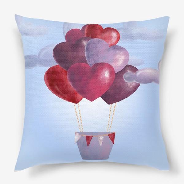 Подушка «Романтика в облаках»