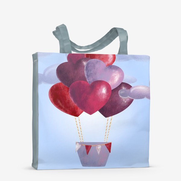 Сумка-шоппер «Романтика в облаках»