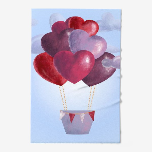 Полотенце «Романтика в облаках»