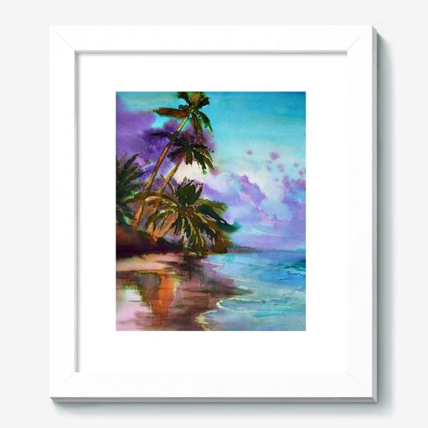 Картина «Пальмы у моря»
