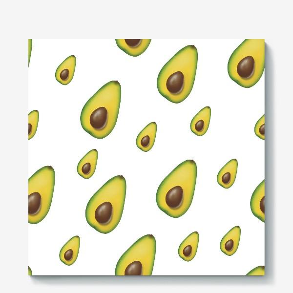 Холст «авокадо»