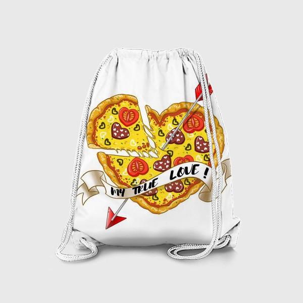 Рюкзак «любовь это пицца»