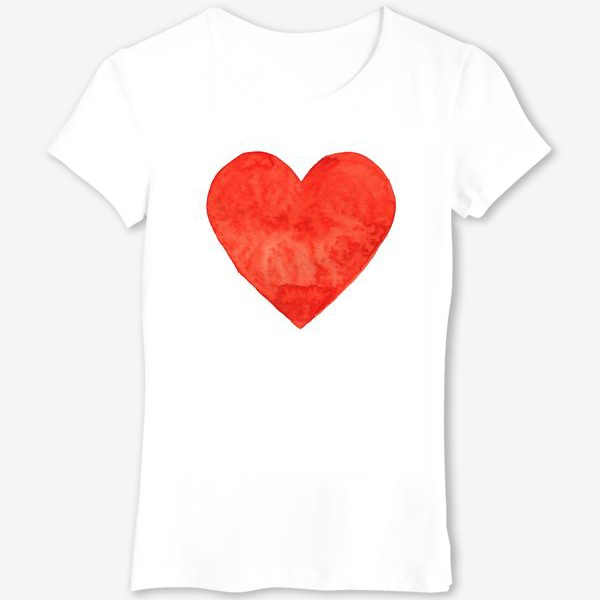 Футболка «Просто красное сердце»