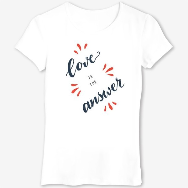 Футболка «Love is the answer»