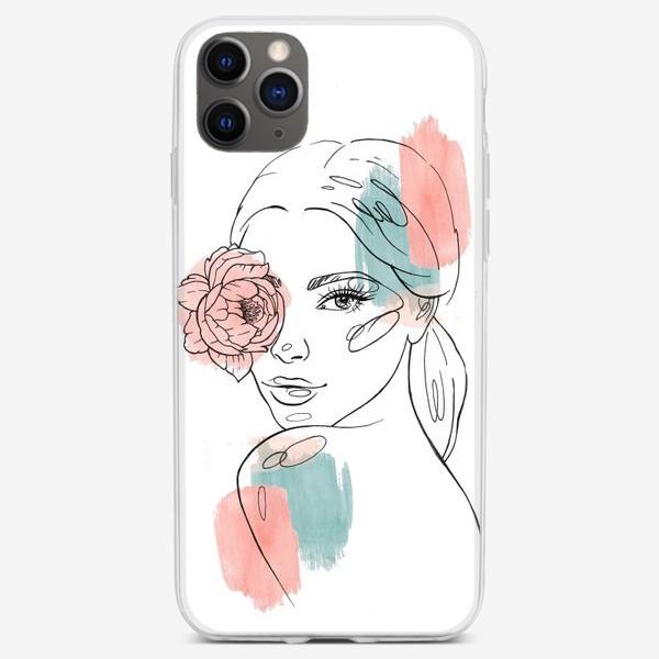 Чехол iPhone «Женский взгляд»
