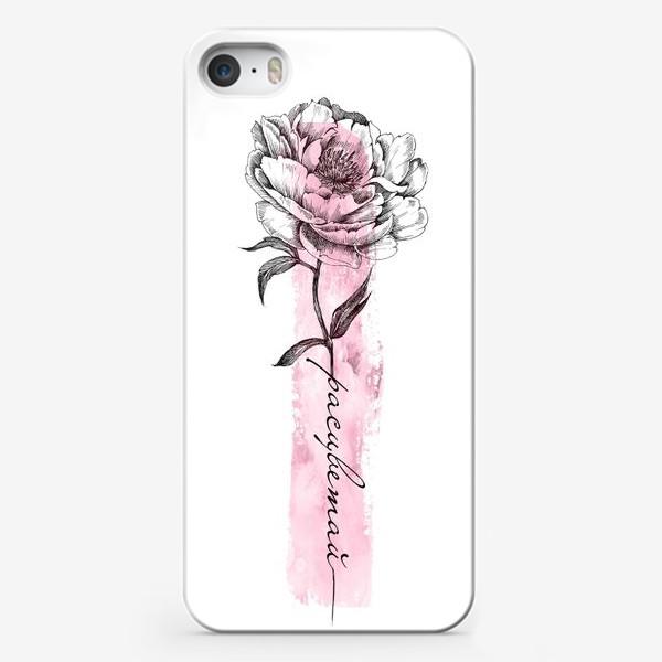 Чехол iPhone «Расцветай, детка»