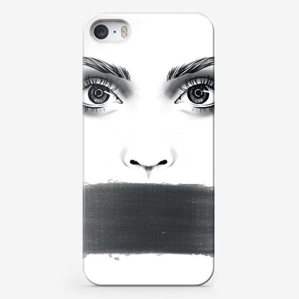 Чехол iPhone «Молчание»