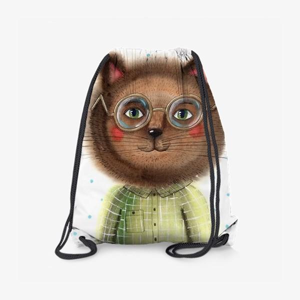 Рюкзак «Кот в очках»