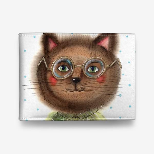 Кошелек «Кот в очках»