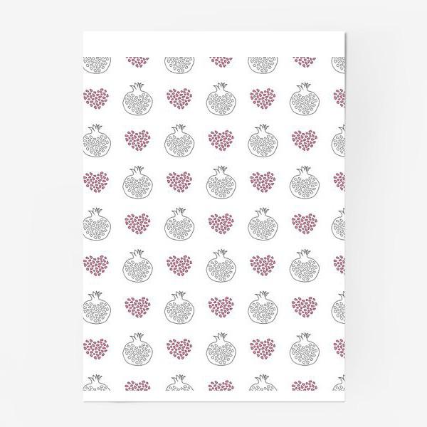 Постер «Гранаты и сердечки»