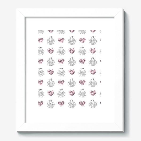 Картина «Гранаты и сердечки»