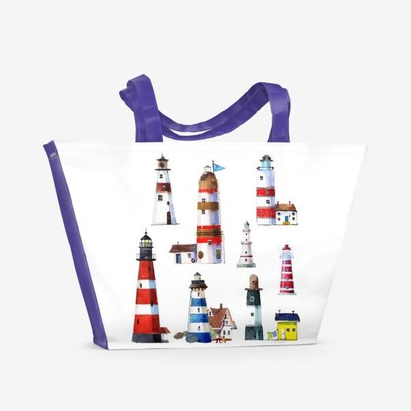 Пляжная сумка «МАЯКИ»