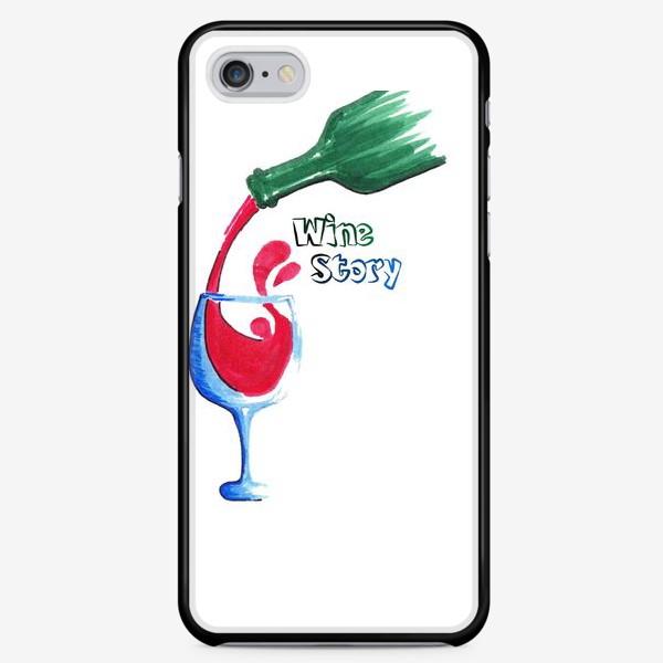 Чехол iPhone «Красное вино»