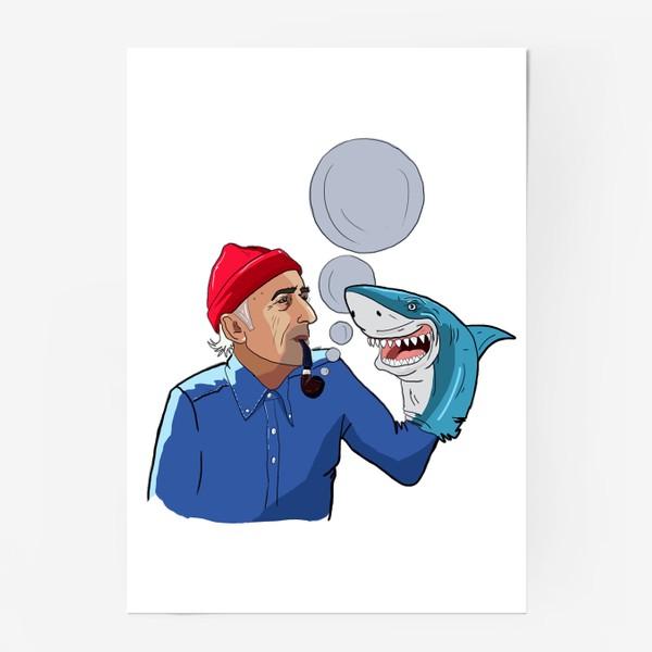 Постер «Кусто»
