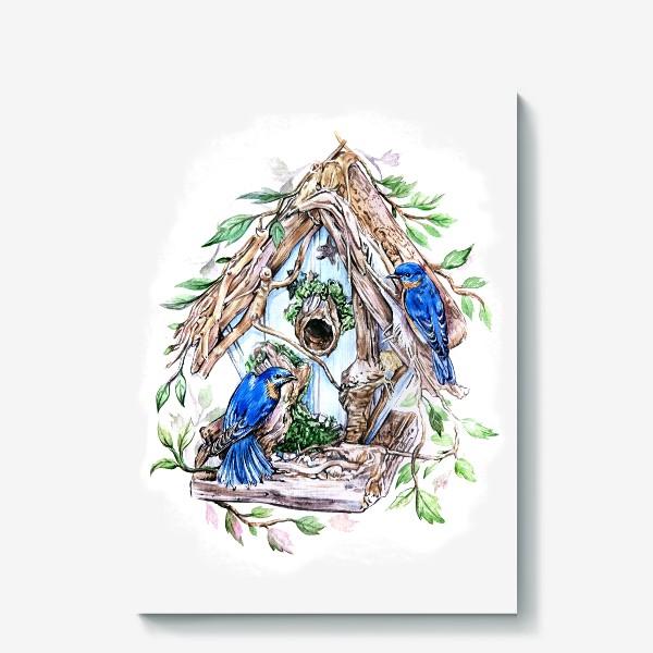 Холст «уютный дом»