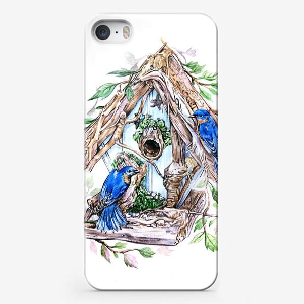 Чехол iPhone «уютный дом»