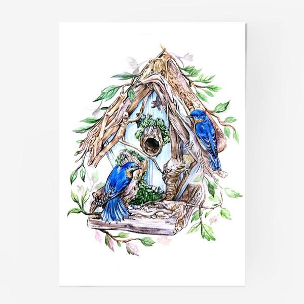 Постер «уютный дом»