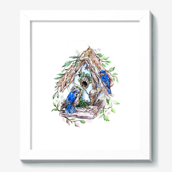 Картина «уютный дом»
