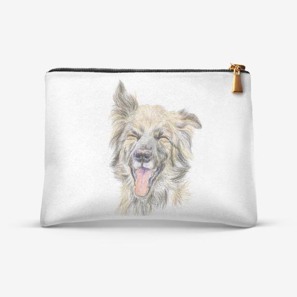 Косметичка «Собака смеётся »