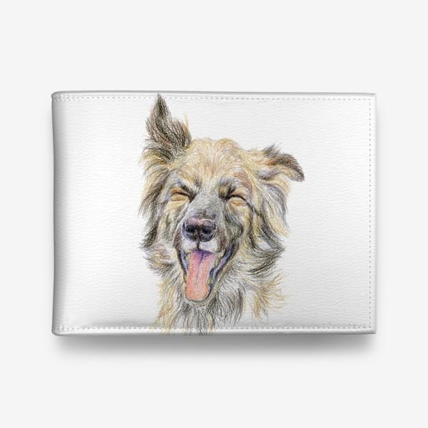 Кошелек «Собака смеётся »