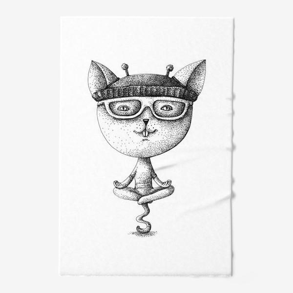 Полотенце «котики»