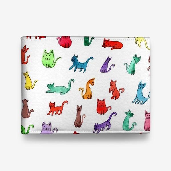 Кошелек «Разноцветные коты»