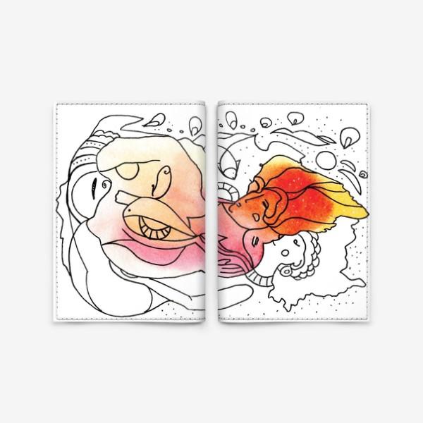 Обложка для паспорта «Образ_30»