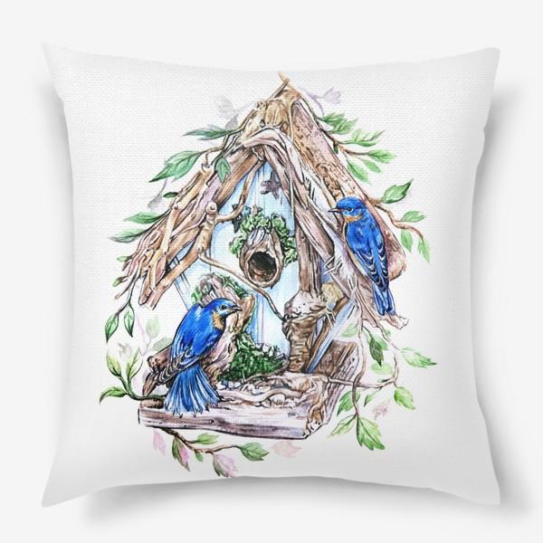 Подушка «уютный дом»
