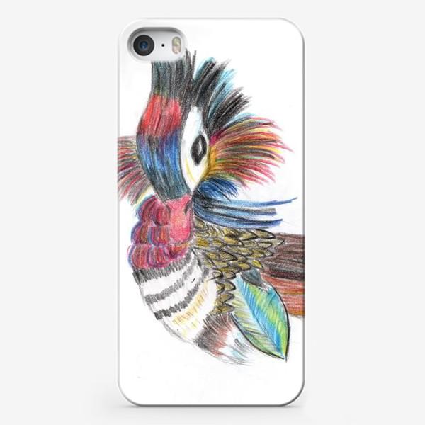 Чехол iPhone «Утка мандаринка»