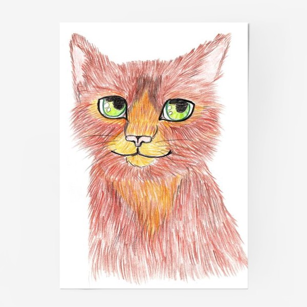 Постер «Огненный кот»