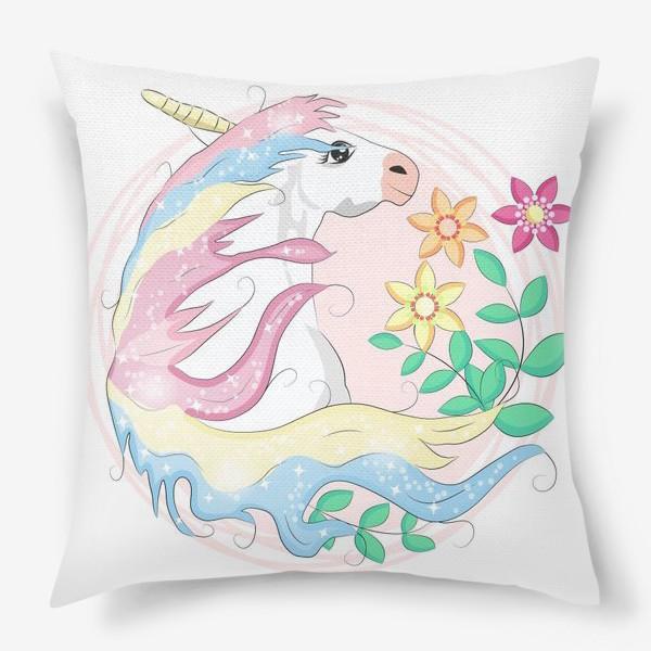 Подушка «Волшебный единорог»