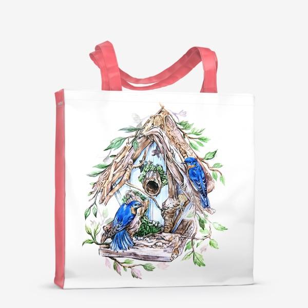 Сумка-шоппер «уютный дом»