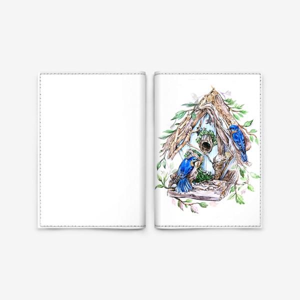 Обложка для паспорта «уютный дом»