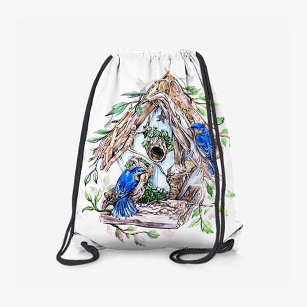 Рюкзак «уютный дом»