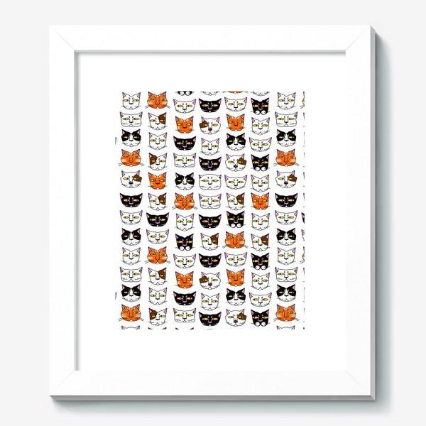 Картина «Кошачьи мордашки»